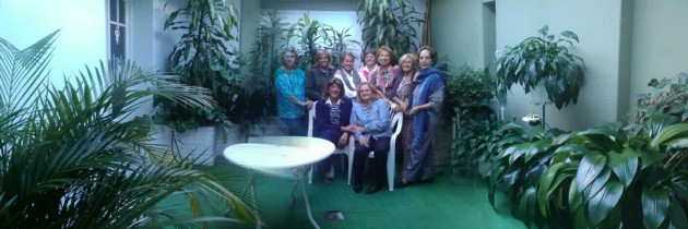 Visita de la Sra. Dora Rocca, presidente del Garden Club Argentino  al grupo Las Azaleas de la Ciudad de Concordia, Entre Ríos