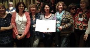 Premio al Logro Cívico - Certificado de Felicitación Colon Fortin - Healing Garden en un hospital para pacientes y familias