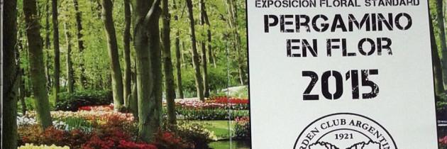"""Programa de la Exposición """"El Ombú"""" de Pergamino"""