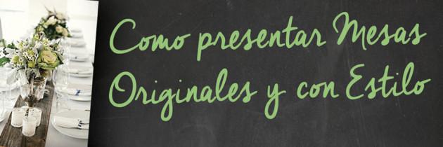 Presentación de Mesas, a cargo de Mónica Puigdevall