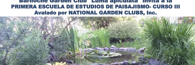 Invitación a Escuela de Estudios de Paisajismo – Curso III / Bariloche GC – Fundación