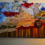 1° Premio- Collage  Expositora: Selva B. de Sondón