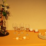 1° Premio  Mesa Buffet : Expositora Maggie A.de Holgado