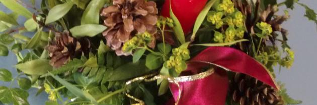 Taller navideño del grupo Olivos en el Garrahan