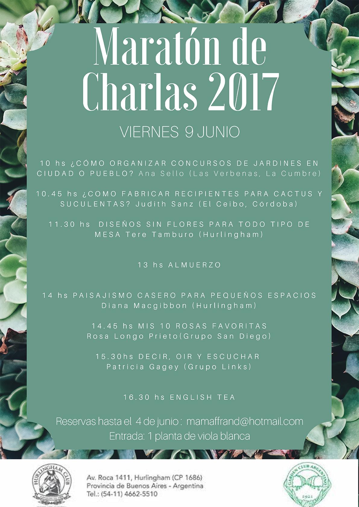 Maratón de Charlas 2017