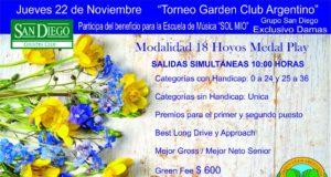 Torneo de Golf Garden Club Argentino
